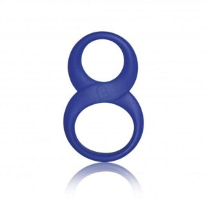 Rocks Off 8 Ball Cock Ring Blue