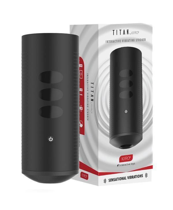 994088x5 600x729 - Titan Vibrating Interactive Stroker by Kiiroo
