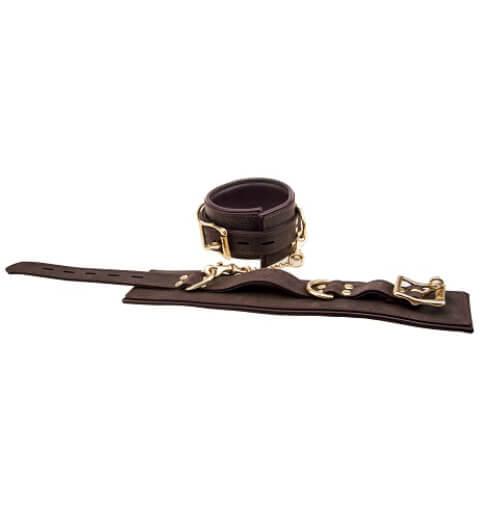n10094 bound wrist cuffs 2 2 1 2 - BOUND Nubuck Leather Wrist Restraints