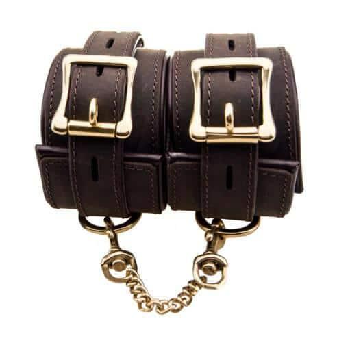 n10094 bound wrist cuffs 3 3 2 - BOUND Nubuck Leather Wrist Restraints
