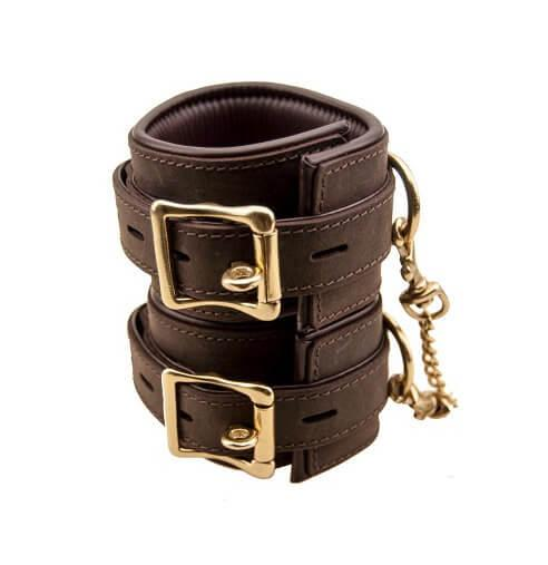 n10095 bound ankle cuffs 4 1 1 2 - BOUND Nubuck Leather Ankle Restraints