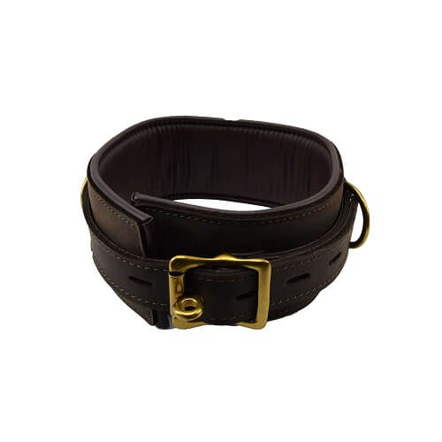 n10096 bound collar 1 1 2 - BOUND Nubuck Leather Collar