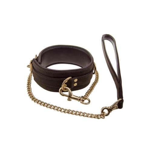 n10096 bound collar 4 1 2 - BOUND Nubuck Leather Collar
