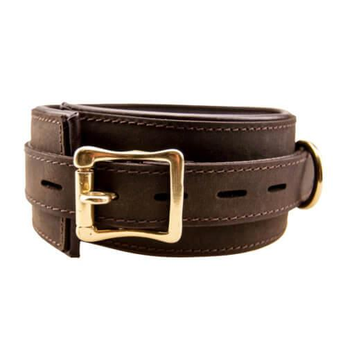 n10096 bound collar 1 2 - BOUND Nubuck Leather Collar