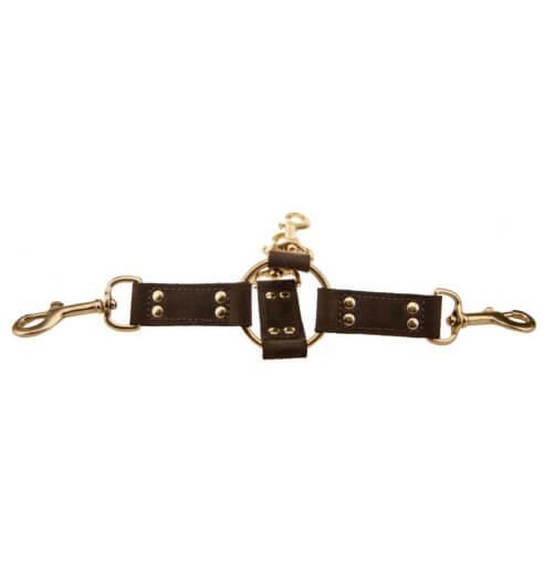 n10100 bound 4 way hog tie 1 1 2 - BOUND Nubuck Leather 4 Way Hog Tie