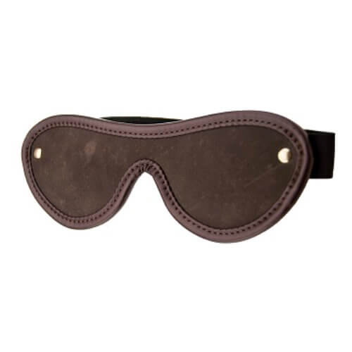 n10102 bound nubuck leather blindfold 2 2 - BOUND Nubuck Leather Blindfold