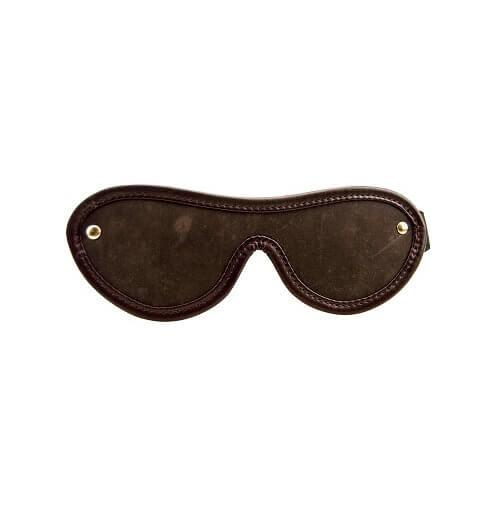 n10102 bound nubuck leather blindfold 1 2 2 - BOUND Nubuck Leather Blindfold