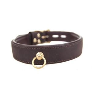 n10116 bound nubuck choker with o ring 02 1 2 2 300x300 - BOUND Nubuck Leather Choker with 'O' Ring