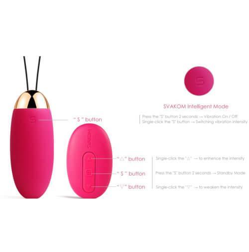 n10288 svakom elva remote control vibrating bullet 11 1 4 - Svakom Elva Remote Control Vibrating Bullet