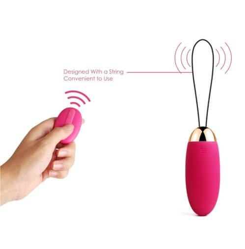 n10288 svakom elva remote control vibrating bullet 9 1 4 - Svakom Elva Remote Control Vibrating Bullet