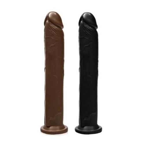 n10372 si novelties 10 inch cock with suction base 1 2 - SI Novelties 10 Inch Cock With Suction Base