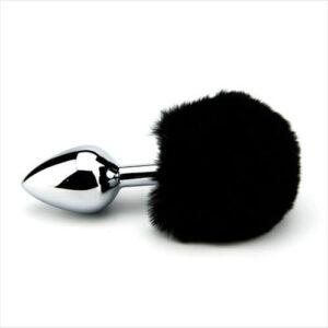 n10422 furry fantasy black bunny tail 1 2 2 300x300 - Furry Fantasy Black Bunny Tail Butt Plug