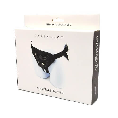 n10437 loving joy universal black harness 7 2 - Loving Joy Universal Black Harness