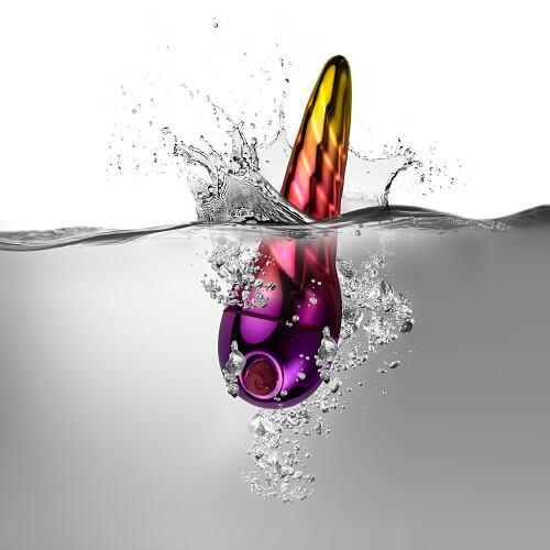n10616 unihorn waterproof 1 1 - Rocks Off Unihorn 10 Function Bullet Vibrator