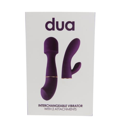 n10700 loving  joy dua 7 1 - Loving Joy DUA Interchangeable Vibrator with 2 Attachments