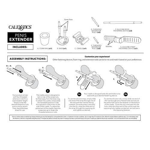 n10793 penis extender system instructions 2 - Penis Extender System