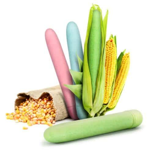 n10844 gaia biodegrable eco vibrator pink 4 1 - Gaia Biodegradable Eco Vibrator Pink