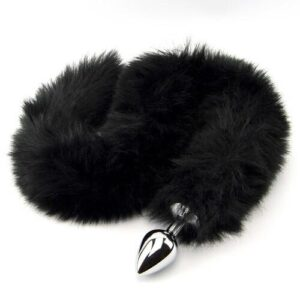 n10880 furry fantasy black panther tail butt plug 1 1 300x300 - Furry Fantasy Black Panther Tail Butt Plug