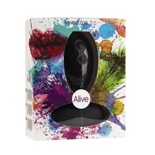 Alive 10 Function Remote Controlled Magic Egg Black