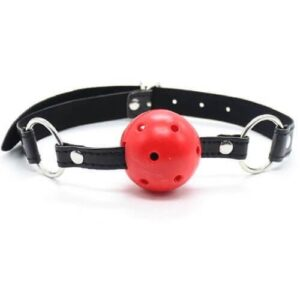 n10931 btp breathable ball gag red 2 300x300 - Bound to Please Breathable Ball Gag Red