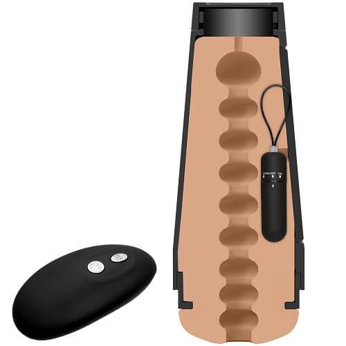 n10939 main squeeze original vibro 5 1 - Doc Johnson Main Squeeze The Original Vibro Pussy Vibrating Male Masturbator