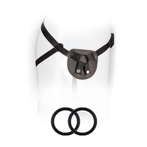 n10945 beginners unisex strap on harness 1 1 - Beginners Unisex Strap-On Harness