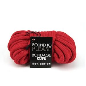 n8389 bound to please bondage rope red 1 1 3 300x300 - Bound to Please Bondage Rope Red