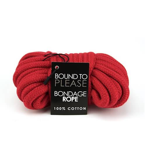 n8389 bound to please bondage rope red 1 1 3 - Bound to Please Bondage Rope Red