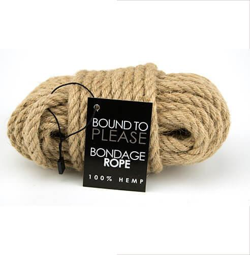 n8391 bound to please bondage rope hemp 1 1 5 - Bound to Please Bondage Rope Hemp