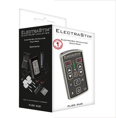 n8739 electrastim flick duo stimulator multi pack 2 1 2 - ElectraStim Flick Duo Stimulator Multi-Pack