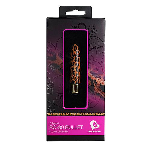 n8790 rocks off ro80mm i luv it leopard bullet 2 2 - Rocks Off RO 80mm I Luv It Leopard Bullet