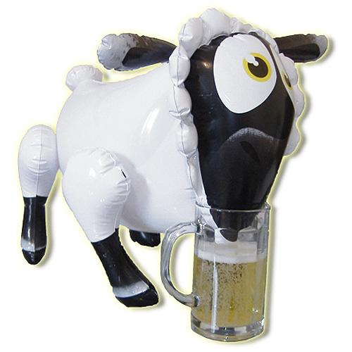 n8856 lady bah bah inflatable sheep 2 5 - Lady Bah Bah Inflatable Sheep