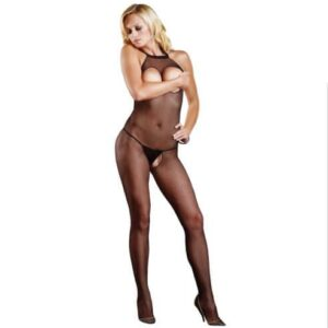 n9156 leg avenue fishnet halter bodystocking 1 4 300x300 - Leg Avenue Fishnet Halter Bodystocking