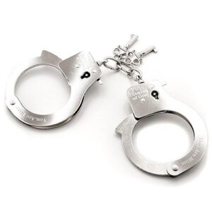 n9563 fsog you are mine metal handcuffs 3 300x300 - Fifty Shades of Grey You. Are. Mine. Metal Handcuffs