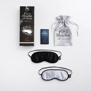 n9565 fsog no peeking soft twin blindfold set 2 5 300x300 - Fifty Shades of Grey No Peeking Soft Twin Blindfold Set