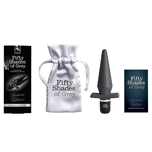 n9569 fsog delicious fullness vibrating butt plug 3 4 - Fifty Shades of Grey Delicious Fullness Vibrating Butt Plug