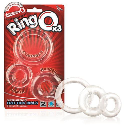 n9792 screaming o ring0 3 pack clear 2 - Screaming O RingO 3 Pack Clear
