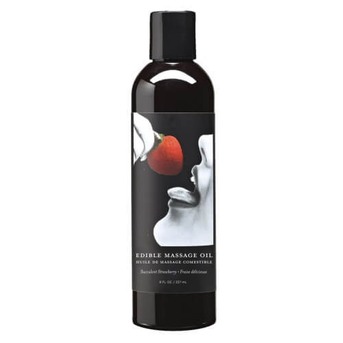 ns5632 earthly body edible massage oil strawberry 2 - Earthly Body Edible Massage Oil
