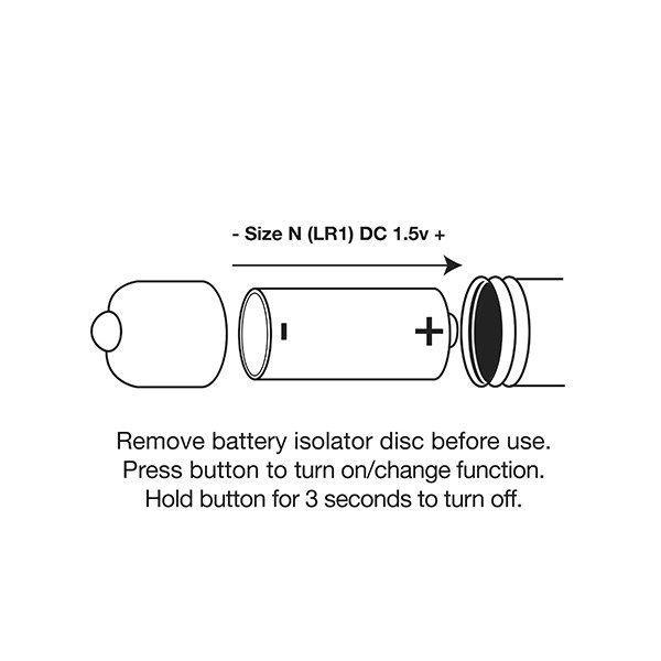 RO80mm Rainbow Bullet Vibrator