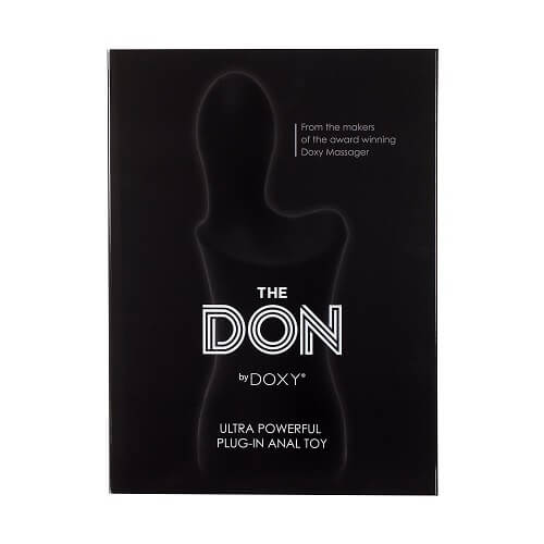 the don by doxy box front 1 1 2 - The Don by Doxy Euro Mains Operated Anal Vibrator