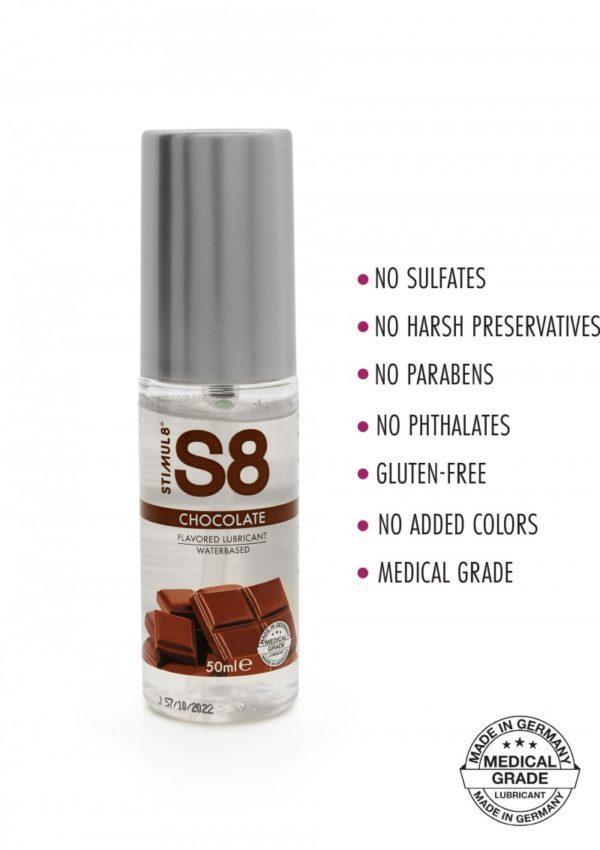819772x1 600x850 - S8 Chocolate Flavored Lube 50ml