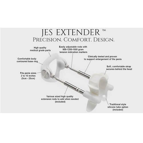 n9744 jes extender light 10 1 - Jes-Extender Original Standard Comfort
