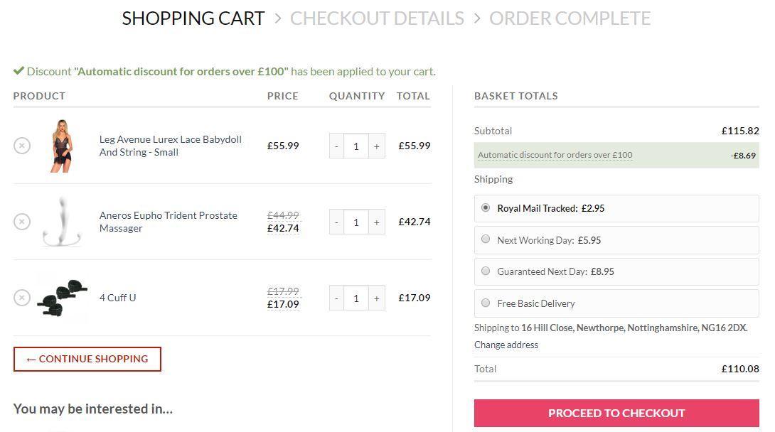 sale 1 - Automatic Discounts Online