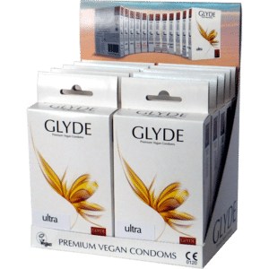 ultra 300x300 - Glyde Ultra Maxi Vegan Condoms 100 Bulk Pack