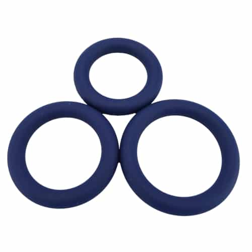 n11080 loving joy thick silicone cock rings 3 pack set 1 - Loving Joy Thick Silicone Cock Rings 3 Pack