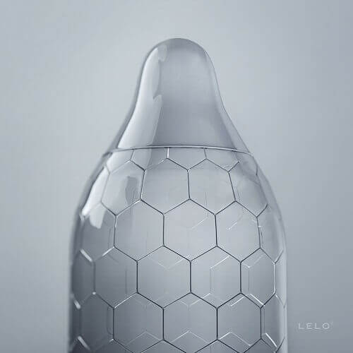 n11313 lelo hex 3 - LELO HEX Condoms Original 6 pack