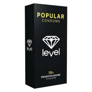 Level Popular Condoms 10 Pack
