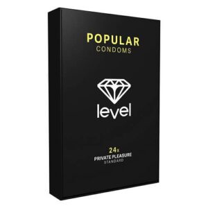 Level Popular Condoms 24 Pack