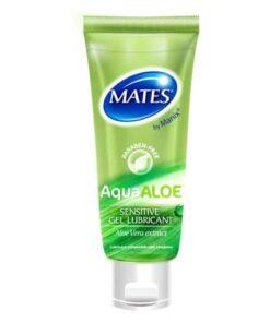 Mates Aquaaloe Gel Lubricant 80ml