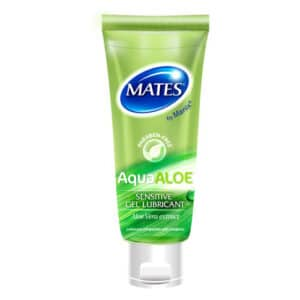 Mates Aquaaloe Gel Lubricant 80ml